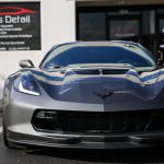 Grey C7 Corvette Z06 is Now as Protected as it is Mean